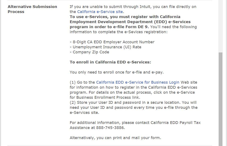 California Payroll Tax Compliance – NEWQBO.COM